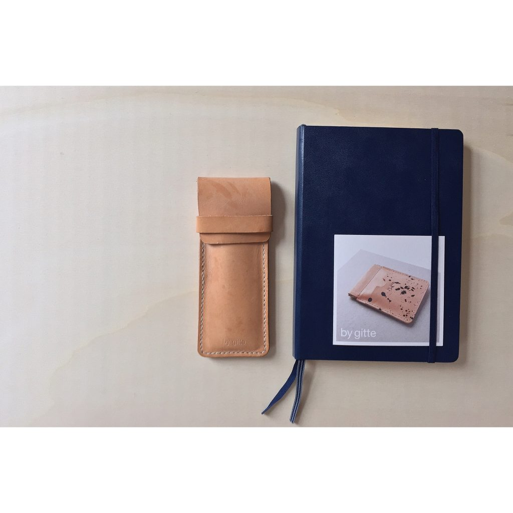 by gitte hand stitched pencase