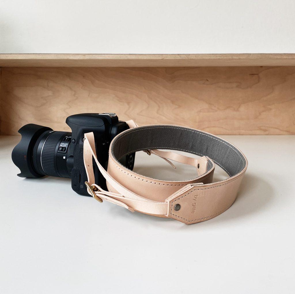 cameraband naturel vilt / canvas